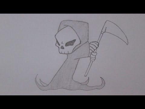Como desenhar a Morte - YouTube