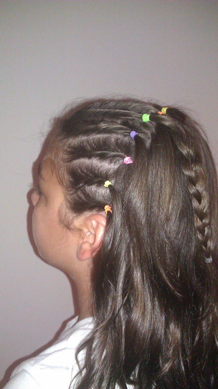 Easy Up Do For Kids Can Be A Confortable Solution For The