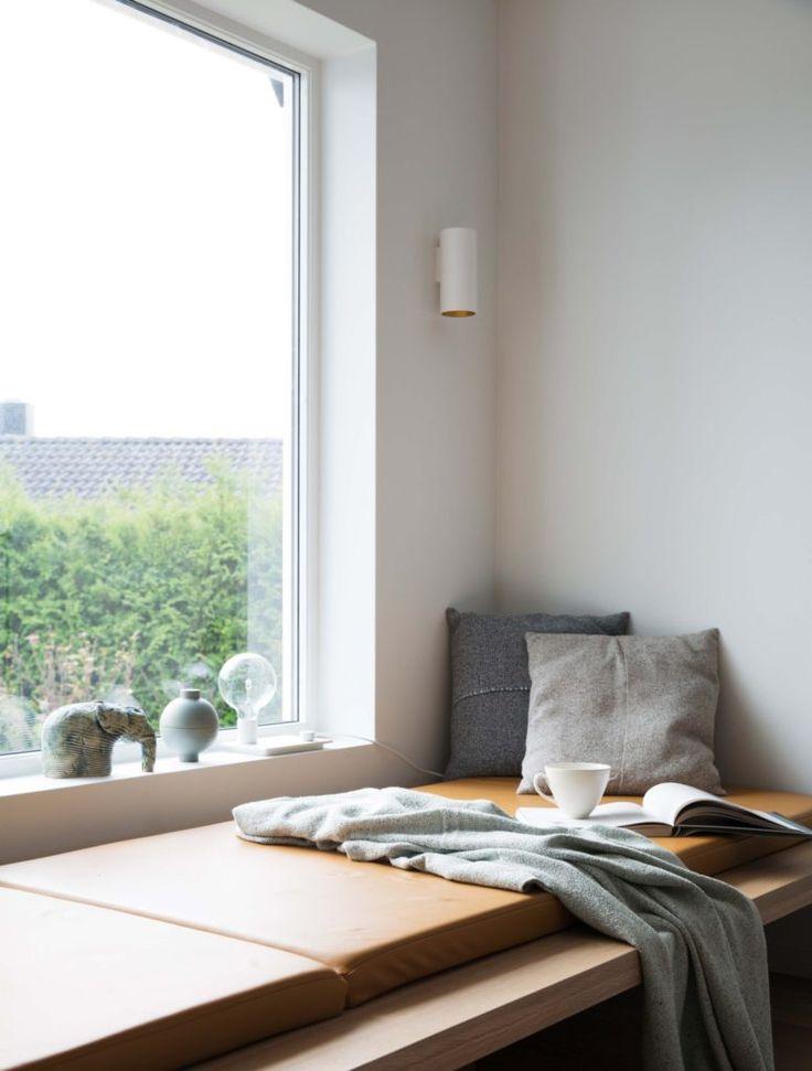 Nyfelt og Strand interiørarkitekter, enebolig nøtterøy, spesialinnredning, dagseng