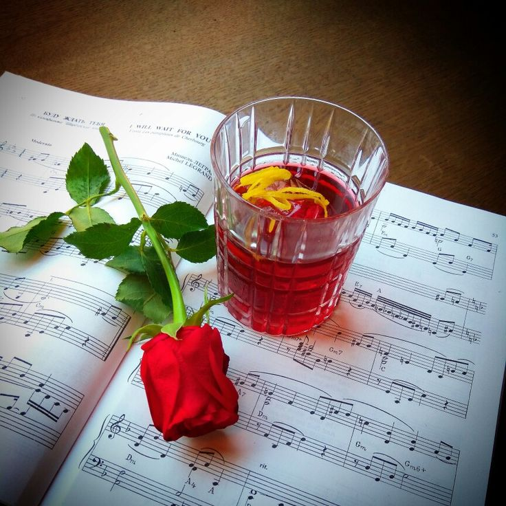 "Cocktail ""Jazz in the Big city"" Bourbon Port Ruby Lemon zest from Saint-Petersburg"