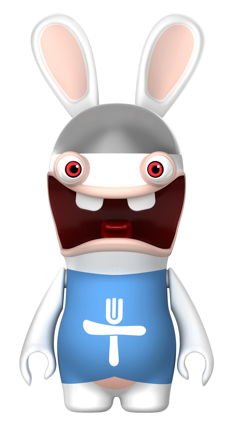 lapins crtins raving rabbids - Raving Rabbids Halloween Costume