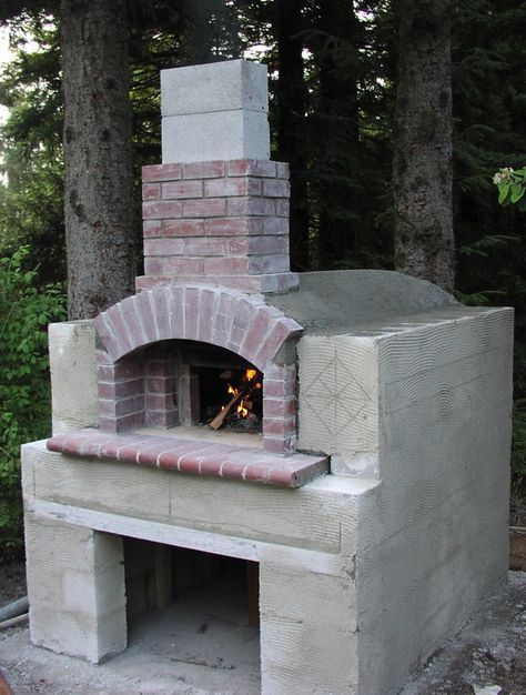 bread pizza oven construction i built this oven in the. Black Bedroom Furniture Sets. Home Design Ideas