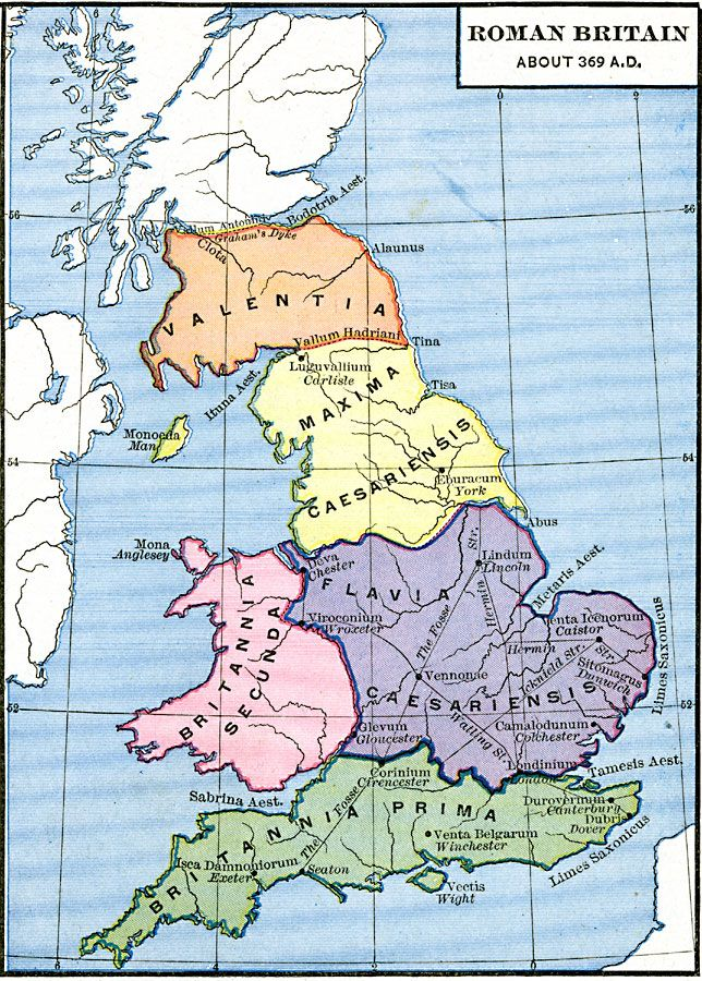 Roman Britain-Would have been nice to have when I was writing my thesis.
