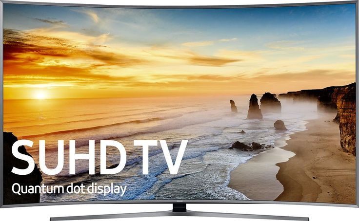 """Samsung - 88"""" Class (88"""" Diag.) - Curved - 2160p - Smart - 4K Ultra HD TV with High Dynamic Range - Silver"""