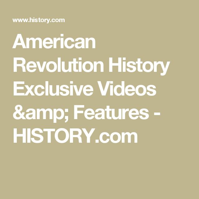 38 best people i love images on pinterest american history american revolution history exclusive videos features history fandeluxe Gallery