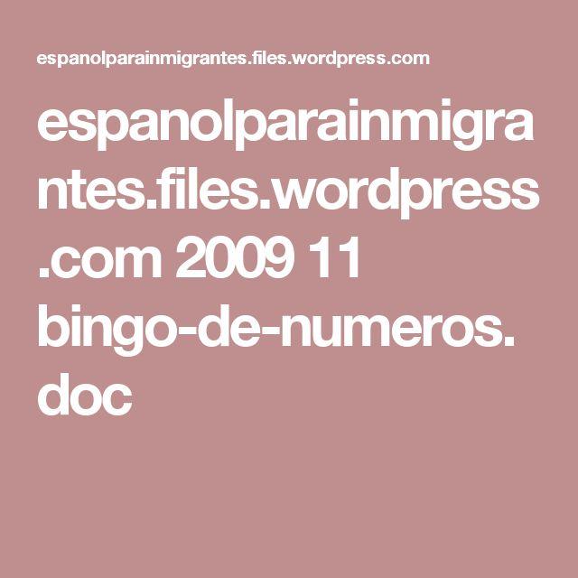 espanolparainmigrantes.files.wordpress.com 2009 11 bingo-de-numeros.doc