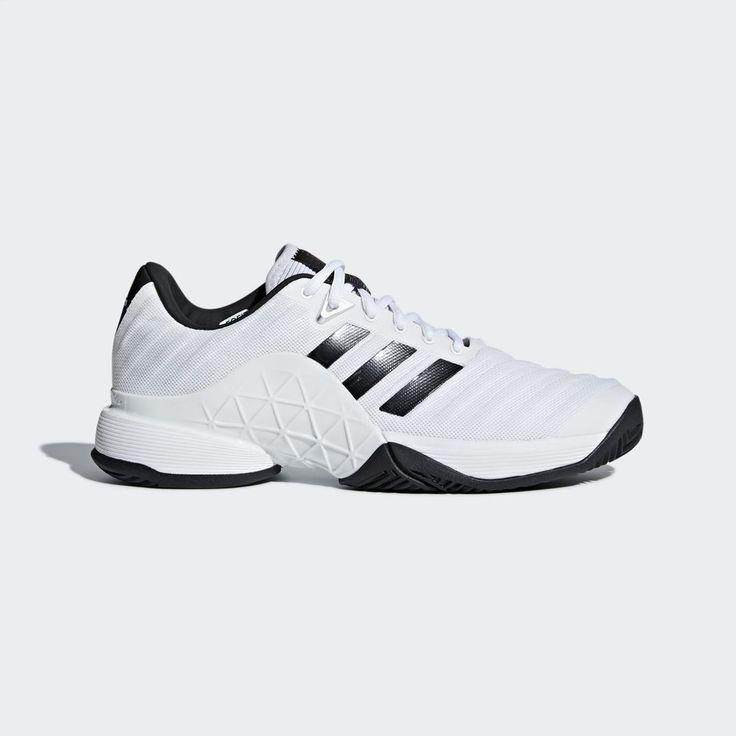 adidas 2018 Barricade Boost Men's Tennis Shoes AU Open White Sneakers NWT CM7819 #adidas