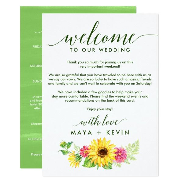The  Best Wedding Welcome Letters Ideas On   Welcome