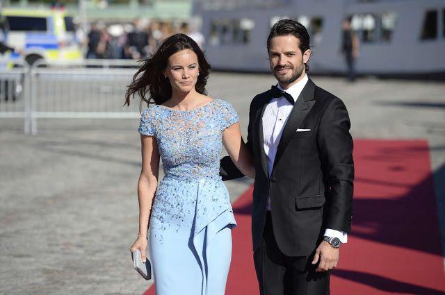 Reines & Princesses: Mariage du prince Carl Philip & Sofia Hellqvist - Dîner sur l'île de Skeppsholmen