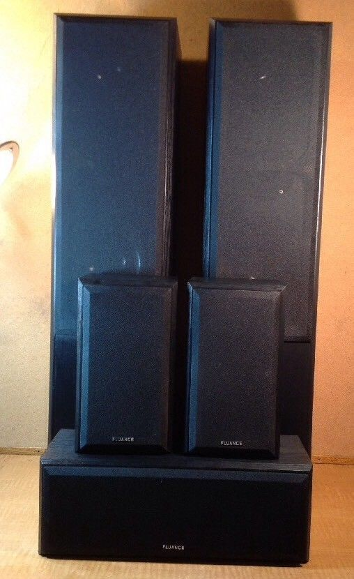 Fluance Surround Sound Home Theater 5.0 Channel Speaker System AVHTB - TESTED #Fluance