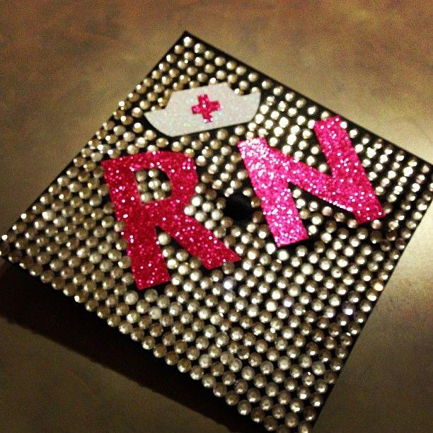 The #USF graduation cap of a future nurse. Made me think of @Angel Kittiyachavalit Kittiyachavalit Swilley