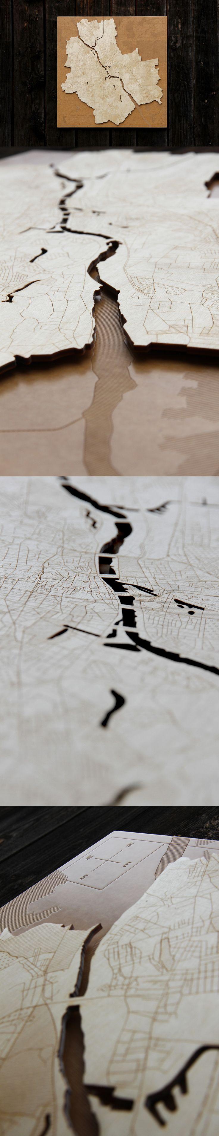 www.rzemioslo.pro #warsaw #warszawa #mapa #plan #siatkaulic #sklejka #grawerowanie #naścianę #dekoracja #design #wnętrza