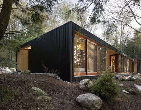 Clear Lake Cottage by MacLennan Jaunkalns Miller Architects