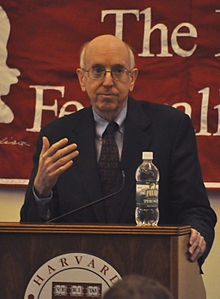 """Richard Posner - is basically the rock star of judges, shares his opinion way more than most judges would feel as appropriate and is an outspoken public figure that fights for things like less copyright laws - my fave quote of his """"I've become less conservative since the Republican Party started becoming goofy."""""""