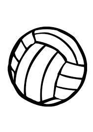 afbeeldingsresultaat voor kleurplaat ballen volleybal
