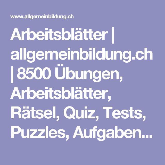 244 best Bildung, Lehrmaterial, usw... images on Pinterest ...