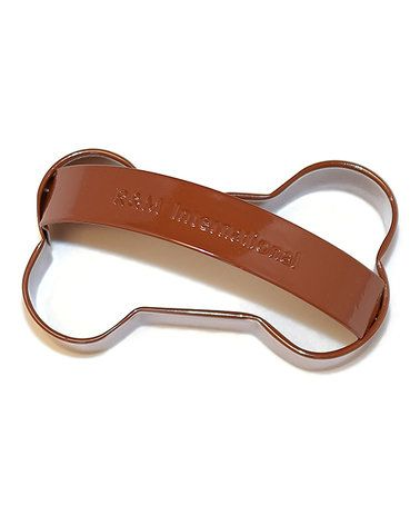 Love this Dog Bone Cookie Cutter With Handle on #zulily! #zulilyfinds