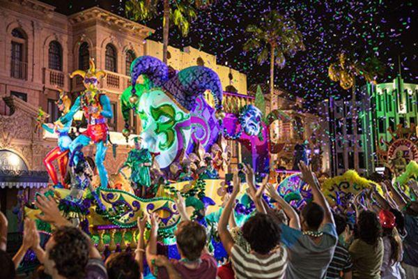 Mardi Gras at Universal Orlando Florida