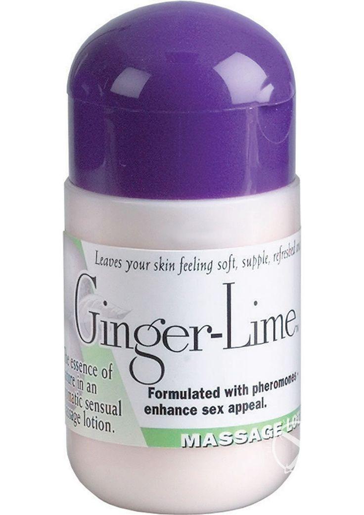 Pheromone Massage Lotion Ginger Lime 4 Ounce
