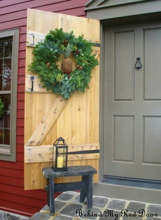 1011 best christmas primitive colonial country exterior decor images on pinterest