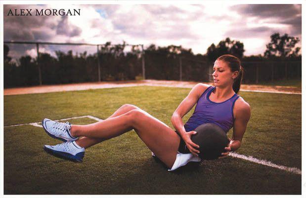 Alex Morgan US Women's Soccer Portland Thorns Sports Poster 11x17 – BananaRoad