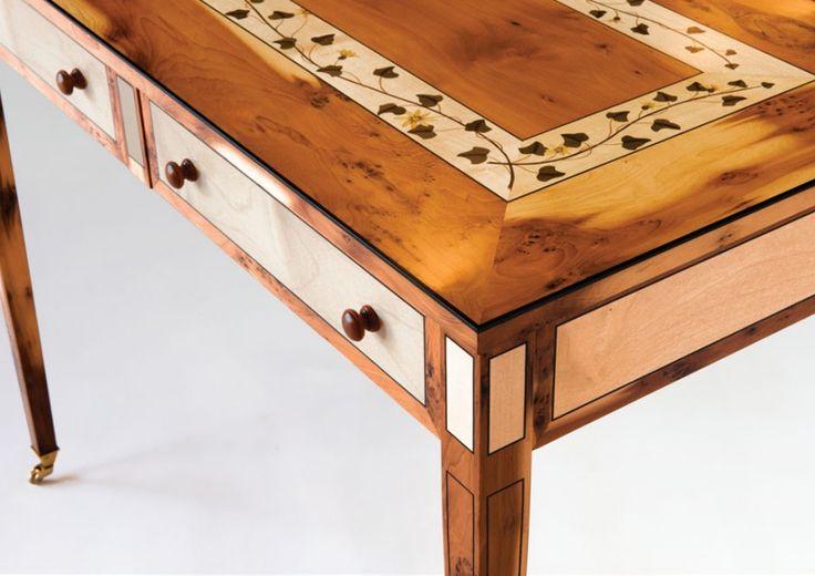 Yew Table, Geoff Hannah. Bungendore Wood Works Gallery 2013