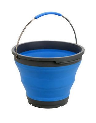 OZTRAIL COLLAPSIBLE SILICONE BUCKET 10L CAPACITY BRAND NEW CAMPING OUTDOORS