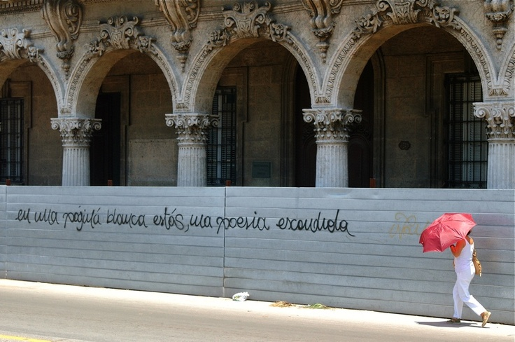 Hidden Poetry on a White Page ~ 23 photos of Havana, Cuba