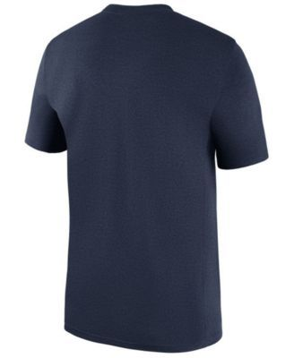 Nike Men's New England Patriots Legend Icon T-Shirt - Blue XXL