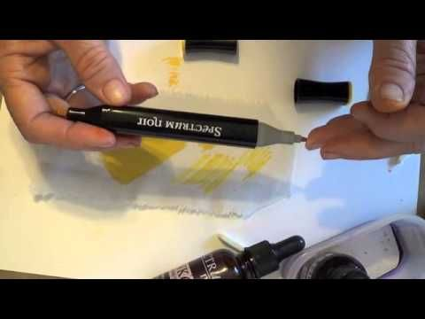 Spectrum Noir - Caring For Your Alcohol Pens - YouTube