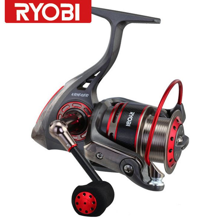 Free Shipping Original100%RYOBI Reel KRIGER 7BB 5.1:1/5.0:1 Gear Ratio Carretes Pesca Spinning Moulinet Peche Fishing Reel #Affiliate