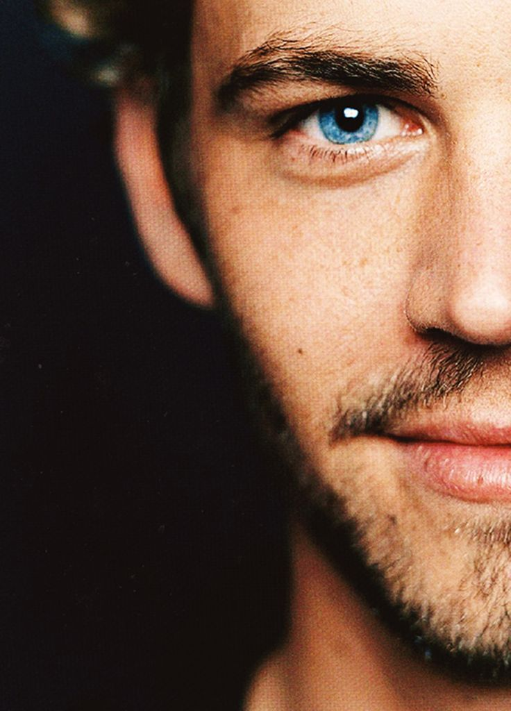 The intoxicating beauty of Paul Walker - a talent whose life was tragically cut short. Rest in Peace.