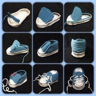 tutorial croche all stars