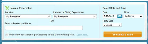 How to make dining reservations in Disney World: Food Blog, Disney Restaurant