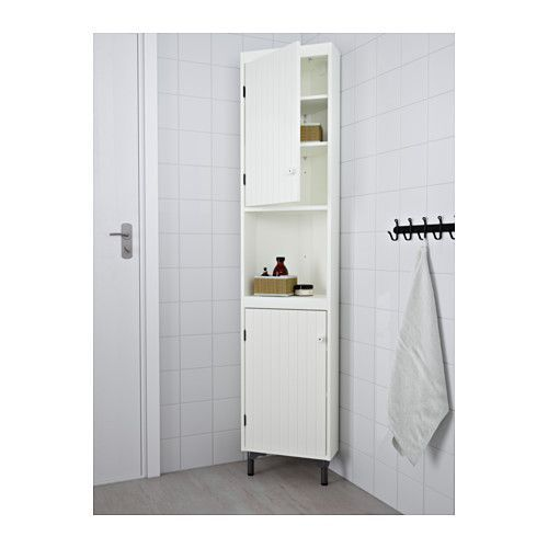 СИЛВЕРОН Секция угловая - белый - IKEA (For Bathroom, or even in the corner of the kitchen?)