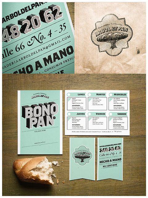 Árbol del Pan    Diseño de identidad para la panadería artesanal Árbol del Pan.  Diseño: Diego Contreras y Francisco Villa  Ilustración: Luisa Uribe    Nominado al premio Lápiz de Acero 2011
