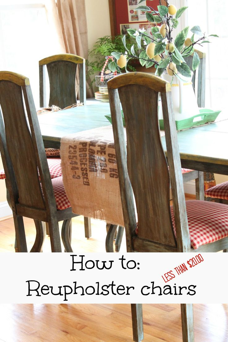 How To Recover Dining Room Chairs Glamorous Design Inspiration