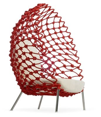 Dragnet by Kenneth Cobonpue #Lounge_Chair