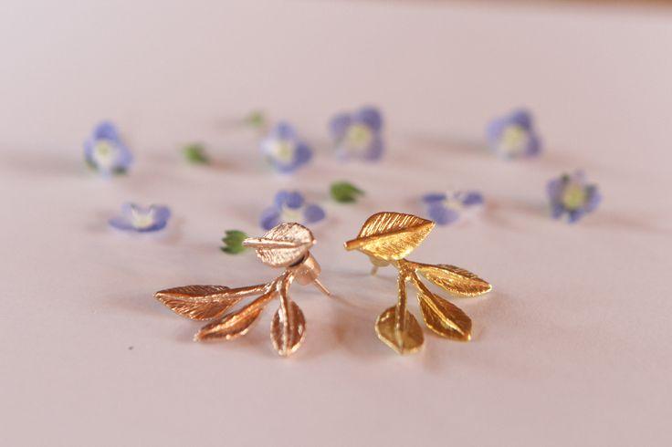 Maggoosh Jewelry / Poem earrings / #maggoosh
