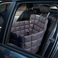 1-Sitz Autoschondecke Rückbank grau