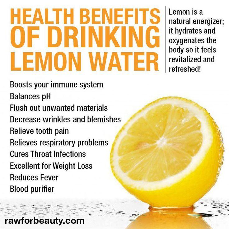 Love my lemon water...