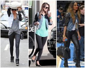 Sou dessas que cisma, e o pior, cisma tardiamente… Lembro de ter visto em algumas lojas esse tipo de jaqueta jeans (que amo de paixão) com mangas de couro. Só que já nem sei mais onde vi, pois não dei atenção e agora me peguei querendo uma. E querendo muuuuito! Tem duas coisas que sempre …