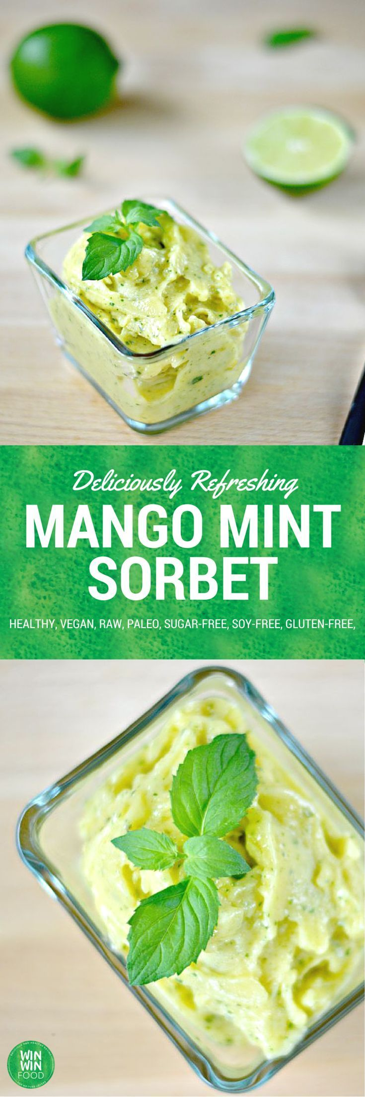 Mango Sorbet auf Pinterest | Sorbet, Limetten-sorbet und Mango
