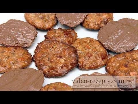 Marokánky s čokoládou - videorecept - YouTube