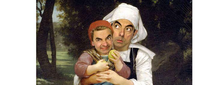 12 Famous Pieces Of Art Featuring Rowan Atkinson