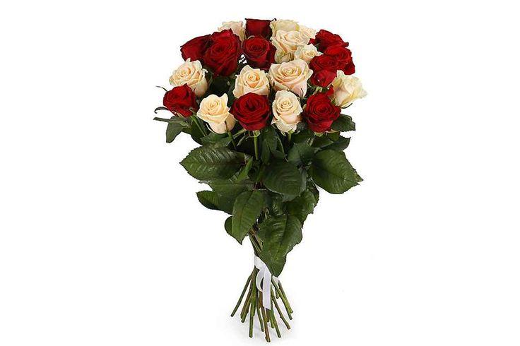 удивительный Букет 21 роза микс  #Букеты #Хитыпродаж,Букет21розамикс
