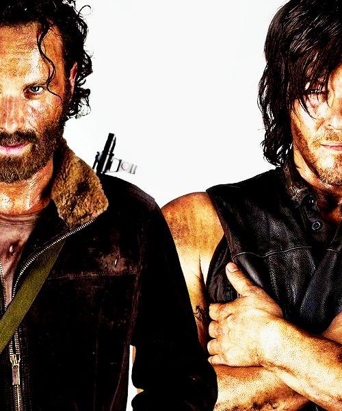 Rick Grimes & Daryl Dixon, S5b