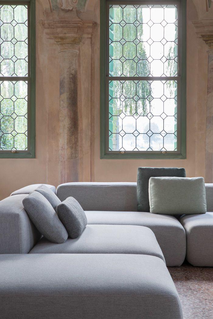 PLUS divani componibili e modulari di design Lapalma