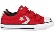 Rode Converse kinderschoenen Star Player gympen