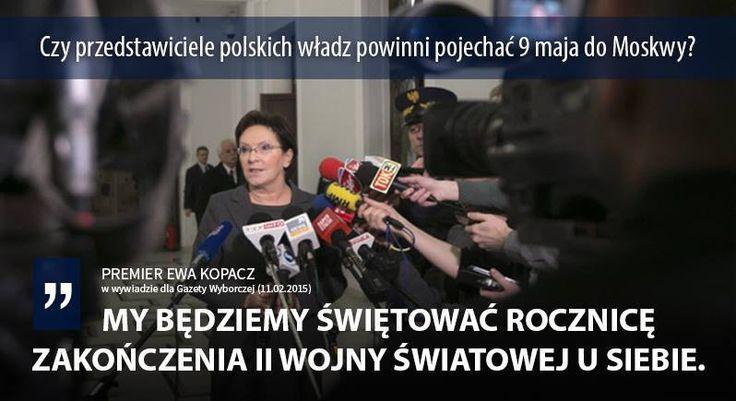 Wywiad z premier Ewą Kopacz w Gazeta Wyborcza znajdziecie tutaj: http://wyborcza.pl/politykaekstra/1,143510,17388185,Kopacz__Nikt_nie_rodzi_sie_premierem.html